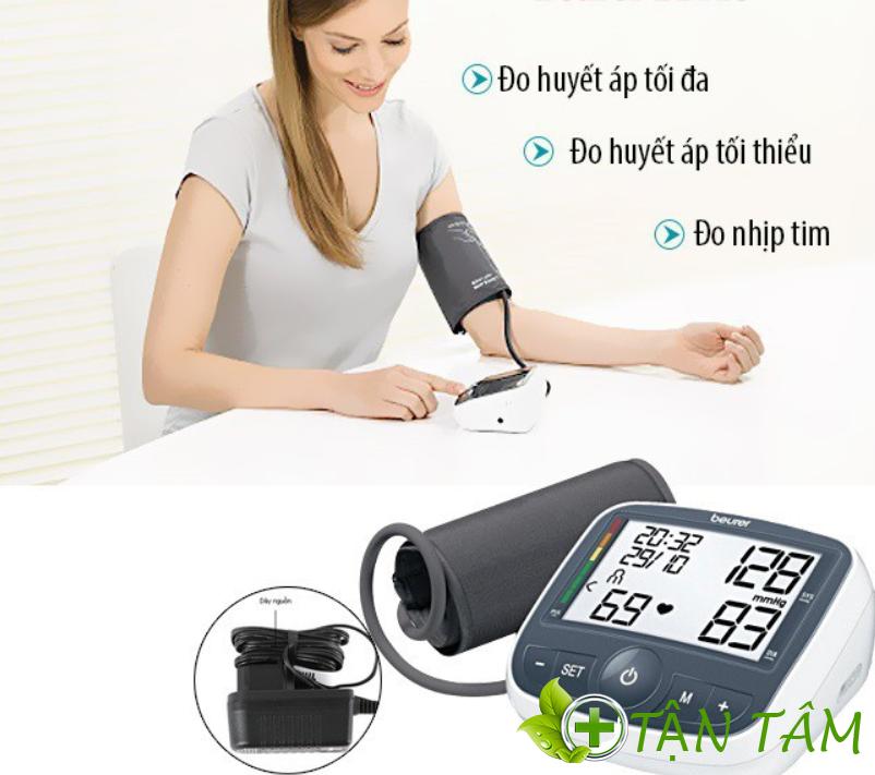 Thông số kỹ thuật của máy huyết áp beurer bm40