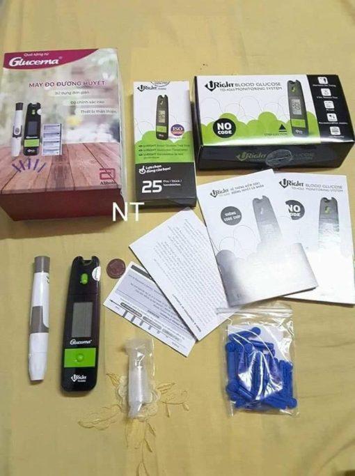 Bộ sản phẩm phù hợp theo dõi đường huyết ở bệnh nhân tiểu đường