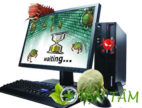 Virus là nguyên nhân khiến máy tính bị lag
