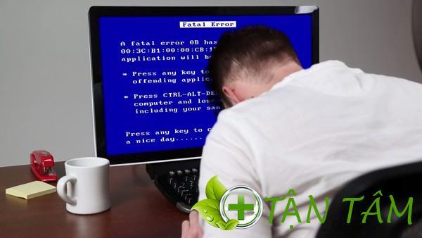 máy tính khởi động chậm