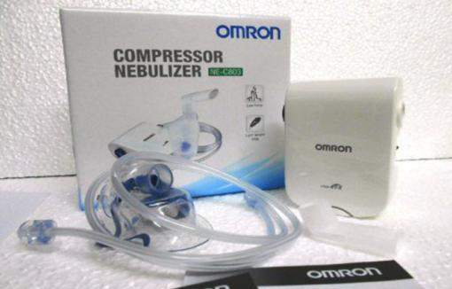 các bước để sử dụng máy xông mũi họng omron NE C803