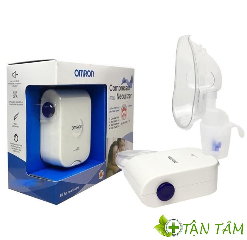 Về ưu điểm của máy xông mũi họng Omron NE C803