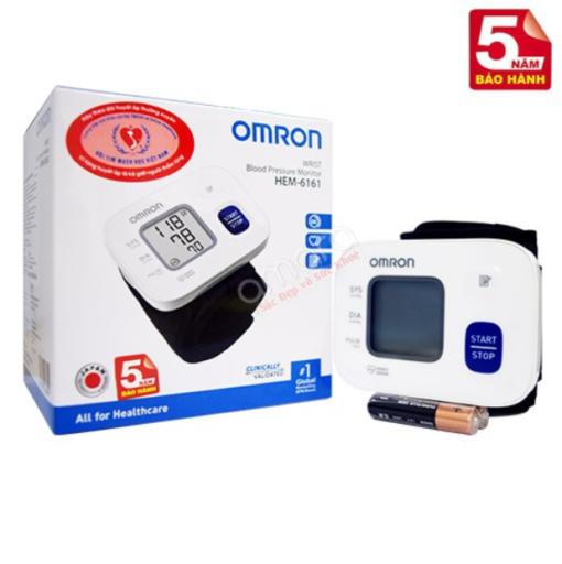 Các tính năng ưu việt khi sử dụng máy đo huyết áp Omron HEM-6161