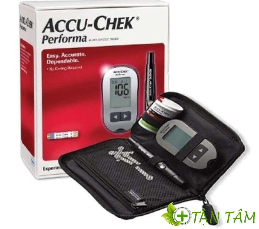 Phụ kiện đi kèm theo thiết bị đo đường huyết
