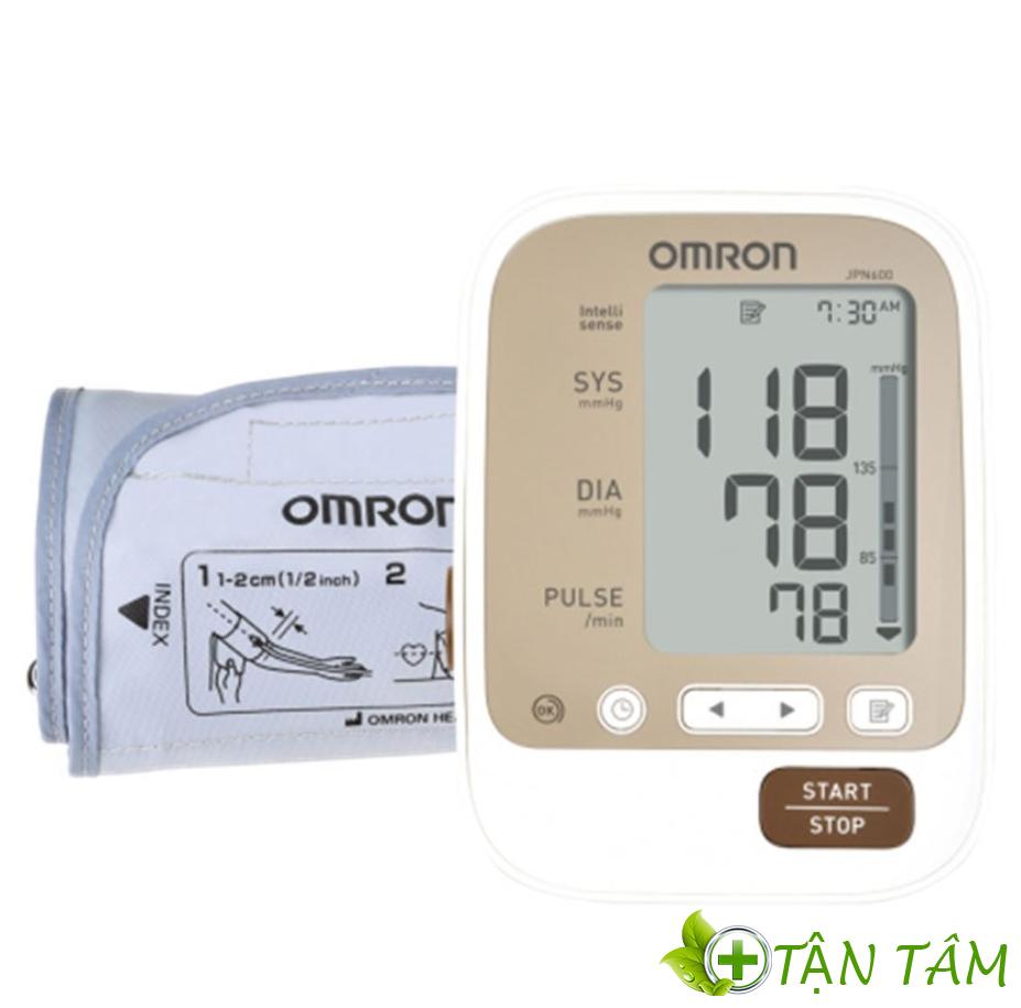 Máy đo huyết áp Omron IPN600 nhỏ gọn dễ sử dụng