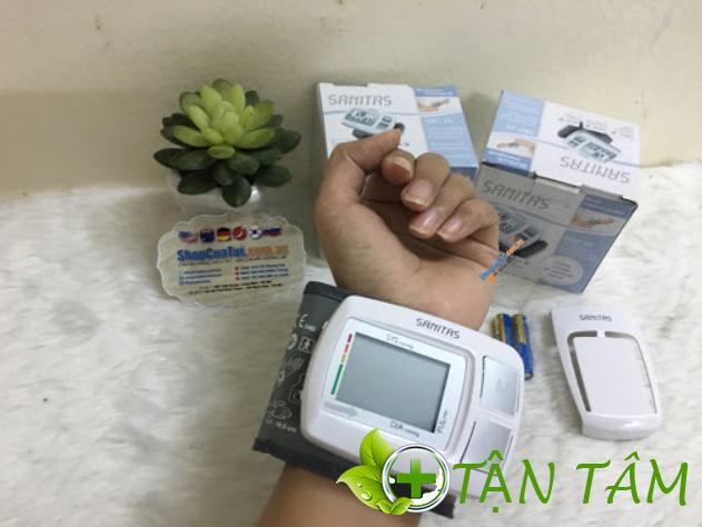 Hướng dẫn sử dụng máy đo huyết áp Sanitas SBM26