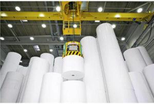 Ứng dụng trong sản xuất giấy