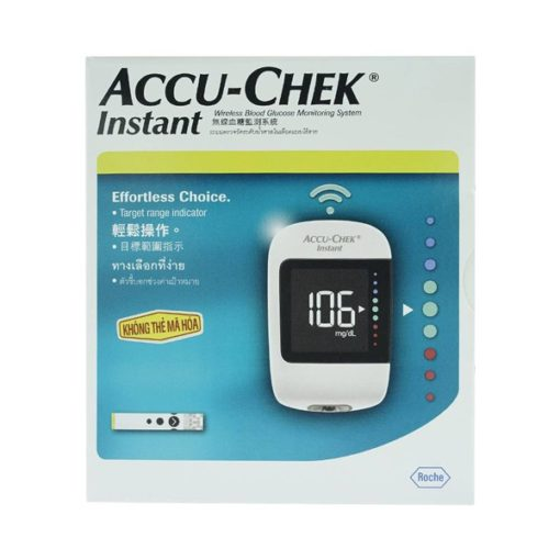 may do duong huyet accu chek instant 1