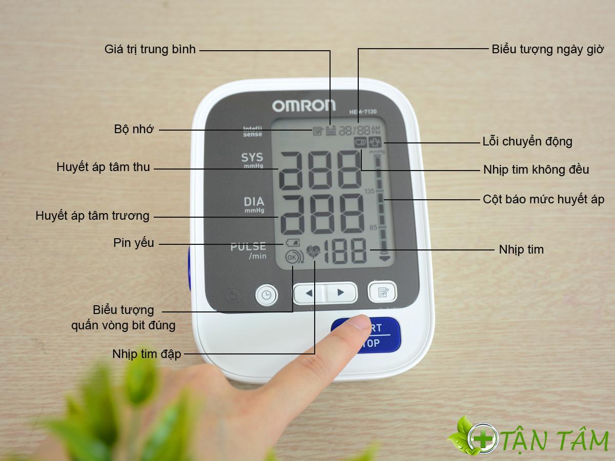 Có thể cân nhắc việc sử dụng máy đo huyết áp tự động Omron nếu chưa tự tin về cách đo huyết áp cơ