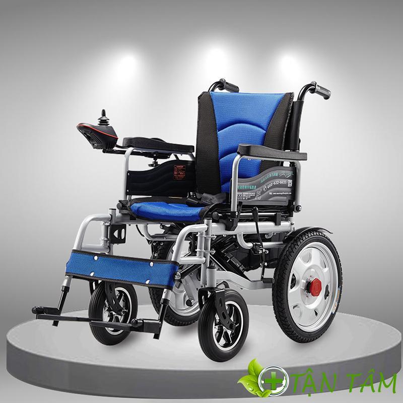 Xe lăn giúp đem lại cảm giác thoải mái cho bệnh nhân và hạn chế tình trạng ủ rũ do nằm một chỗ