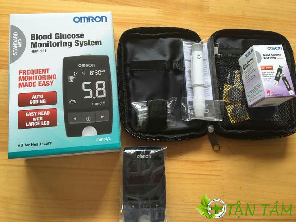 Máy đo đường huyết Omron- sản phẩm không thể thiếu trong gia đình bạn