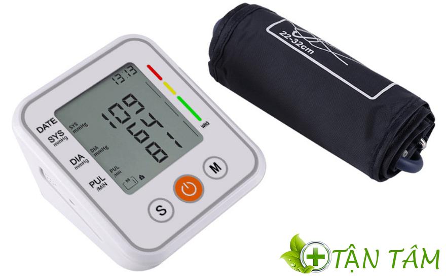 Máy đo huyết áp Fusaka sở hữu thiết kế giản đơn sang trọng