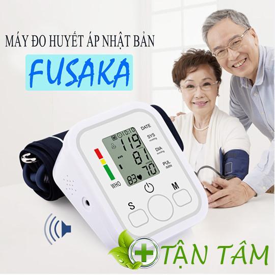 Máy đo huyết áp Fusaka cực kỳ cần thiết dành cho gia đình có người lớn tuổi