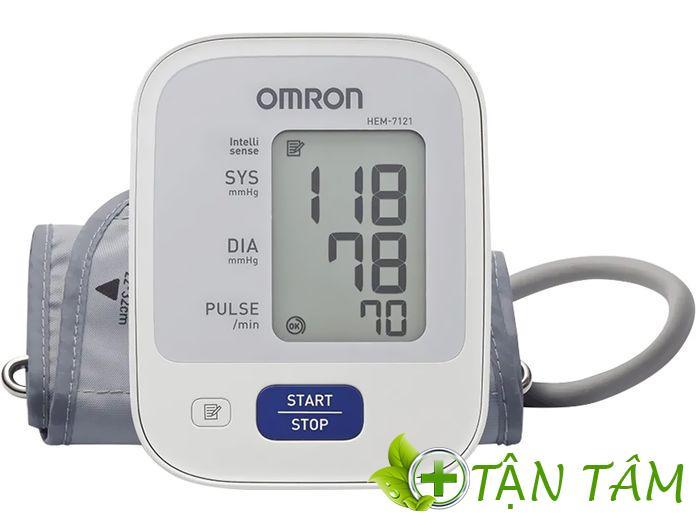 Sự hiện đại mà máy đo huyết áp Omron Hem 7121 sở hữu