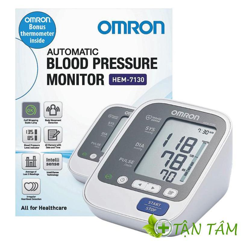 Thiết kế cách điệu của máy đo huyết áp Hem 7130