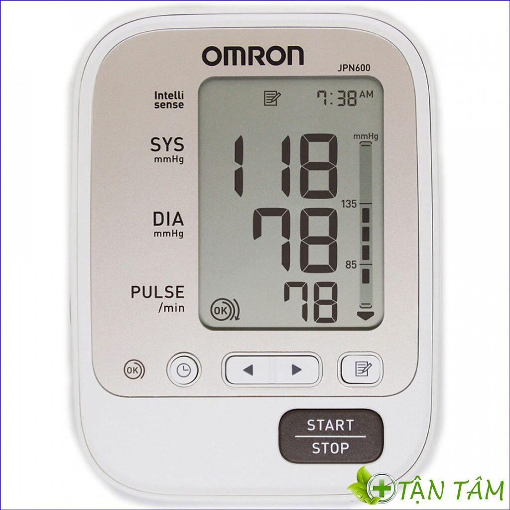 Máy đo huyết áp Omron cung cấp trị số đo chính xác nhanh chóng
