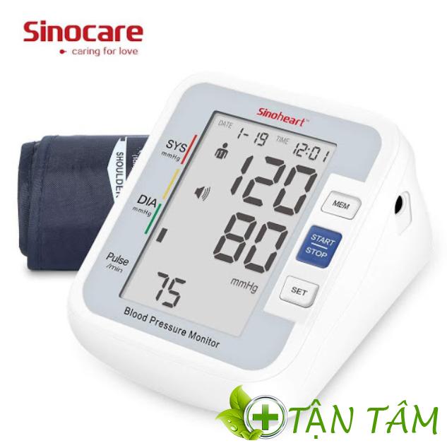 Máy đo huyết áp Sinocare Sino Heart BA801 công nghệ Đức