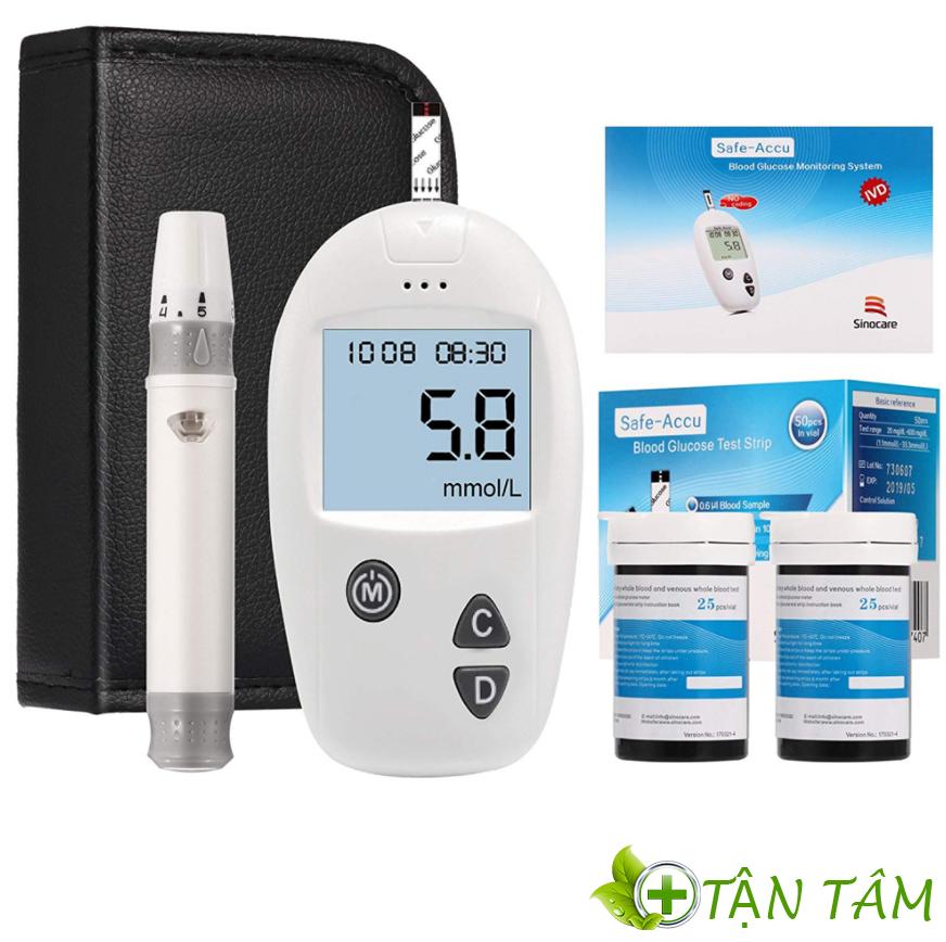 Máy đo đường huyết Sinocare Safe Accu