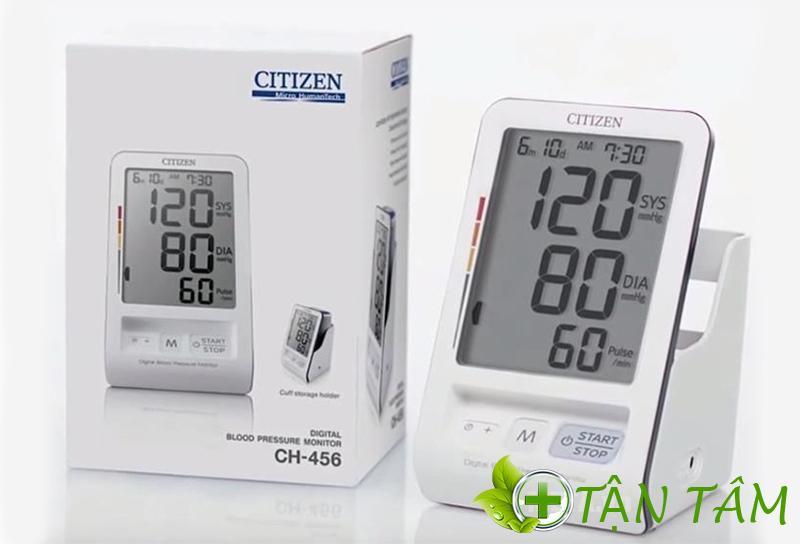 Máy đo huyết áp Citizen CH-456