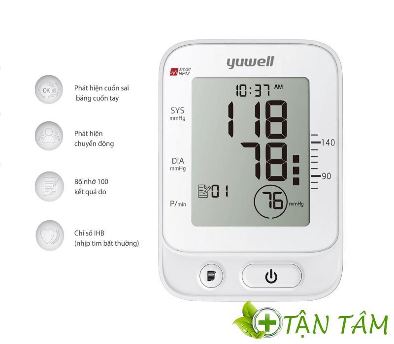 Máy đo huyết áp yuwell YE660E