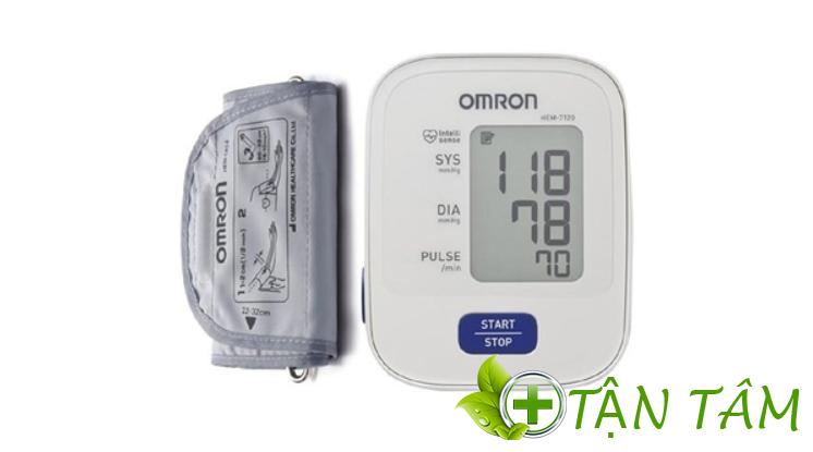Máy đo huyết áp bắp tay Omron HEM – 7120