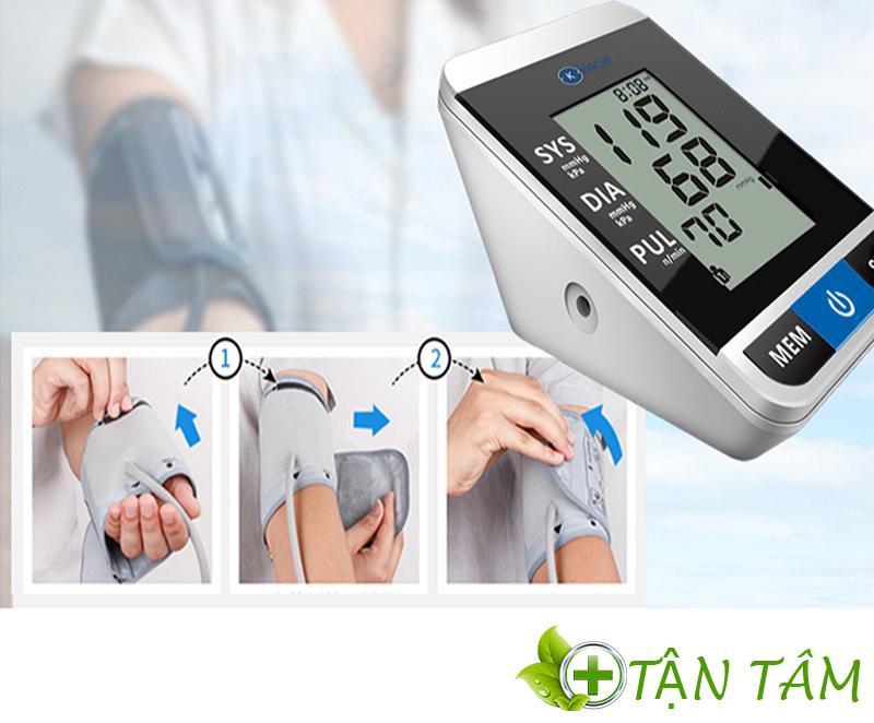 Máy đo huyết áp Kachi MK - 167có lớp vải đo mềm, chất lượng cao đem lại cảm giác thoải mái nhất cho người sử dụng