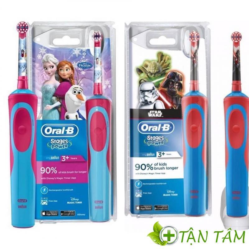 Bàn Chải điện Trẻ Em Oral-B Pro-Health Stages Disney